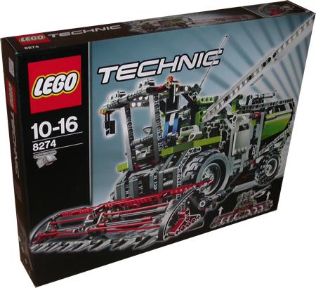 lego technic 8274 m hdrescher miwarz teltow lego g nstig. Black Bedroom Furniture Sets. Home Design Ideas