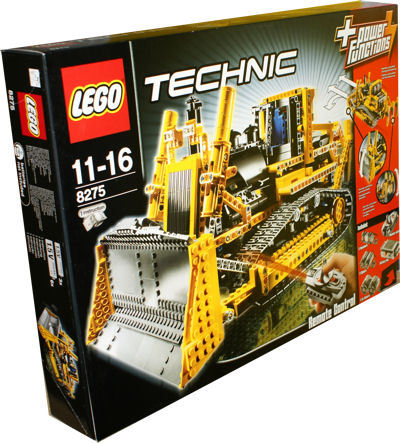 lego technic 8275 rc bulldozer mit motor miwarz teltow. Black Bedroom Furniture Sets. Home Design Ideas