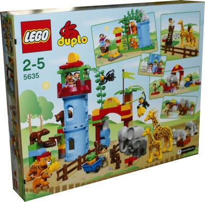 Lego 5635 duplo ville zoo set deluxe miwarz teltow lego for Adventskalender duplo