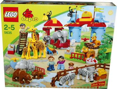 duplo zoo set