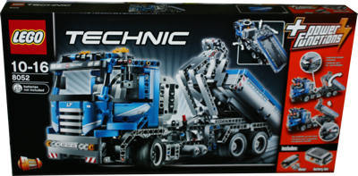lego 8052 technic container truck miwarz teltow lego. Black Bedroom Furniture Sets. Home Design Ideas