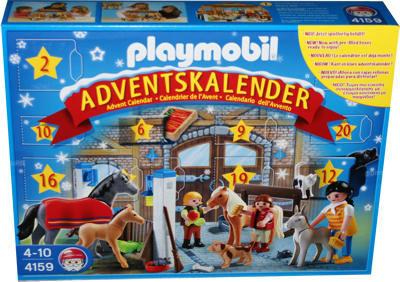 Playmobil 4159 adventskalender reiterhof miwarz teltow for Adventskalender duplo