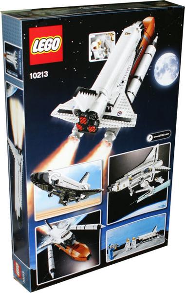 space shuttle lego set 10213 - photo #19