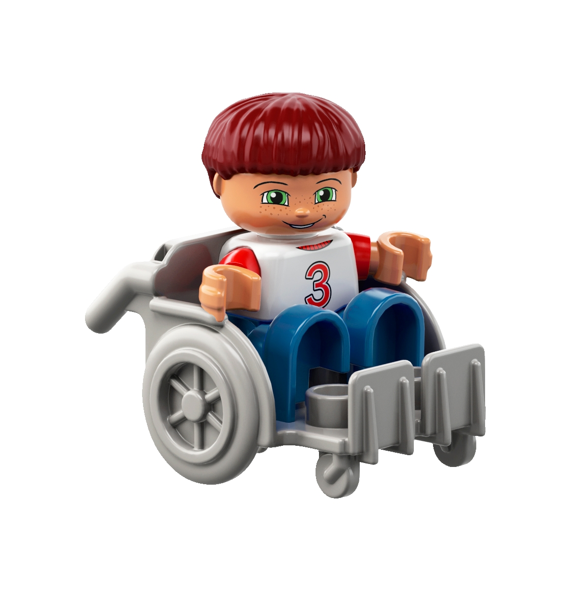 Lego Ha Messo In Produzione Il Primo Omino In Sedia A Rotelle
