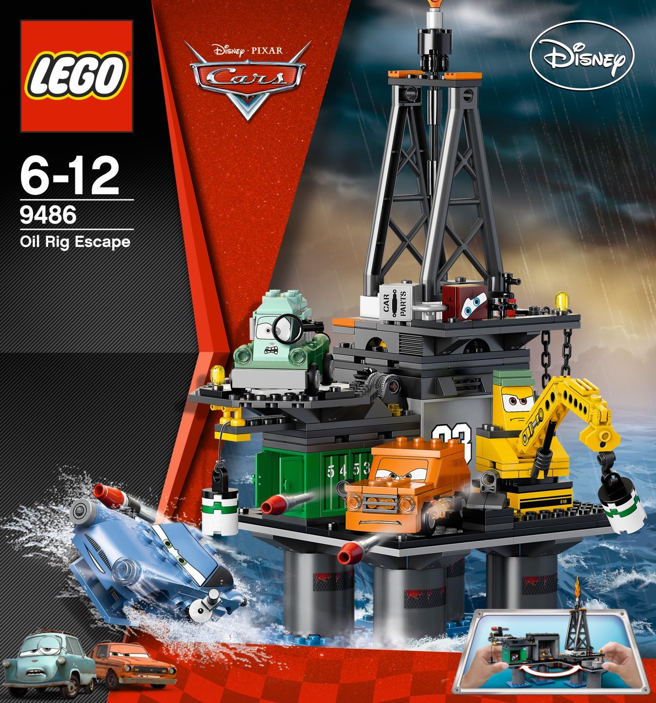 lego cars 9486 flucht von der lbohrinsel miwarz teltow lego g nstig kaufen. Black Bedroom Furniture Sets. Home Design Ideas