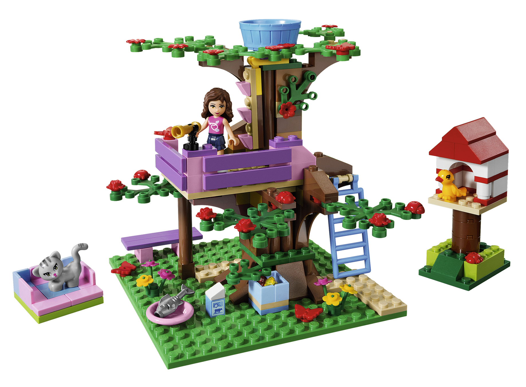 lego friends 3065 abenteuer baumhaus miwarz teltow lego g nstig kaufen. Black Bedroom Furniture Sets. Home Design Ideas