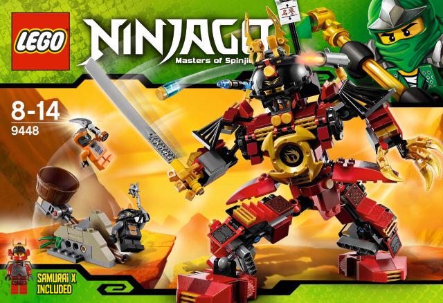 lego ninjago roboter