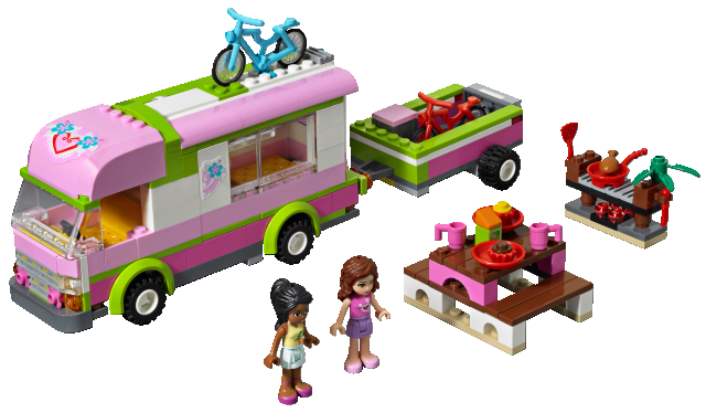 How To Build Lego Friends Camper
