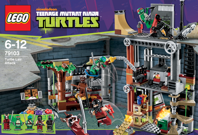LEGO Teenage Mutant Ninja Turtles™ 79103 Turtles ...
