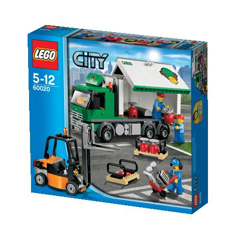 lego city 60020 lkw mit gabelstapler miwarz teltow lego. Black Bedroom Furniture Sets. Home Design Ideas