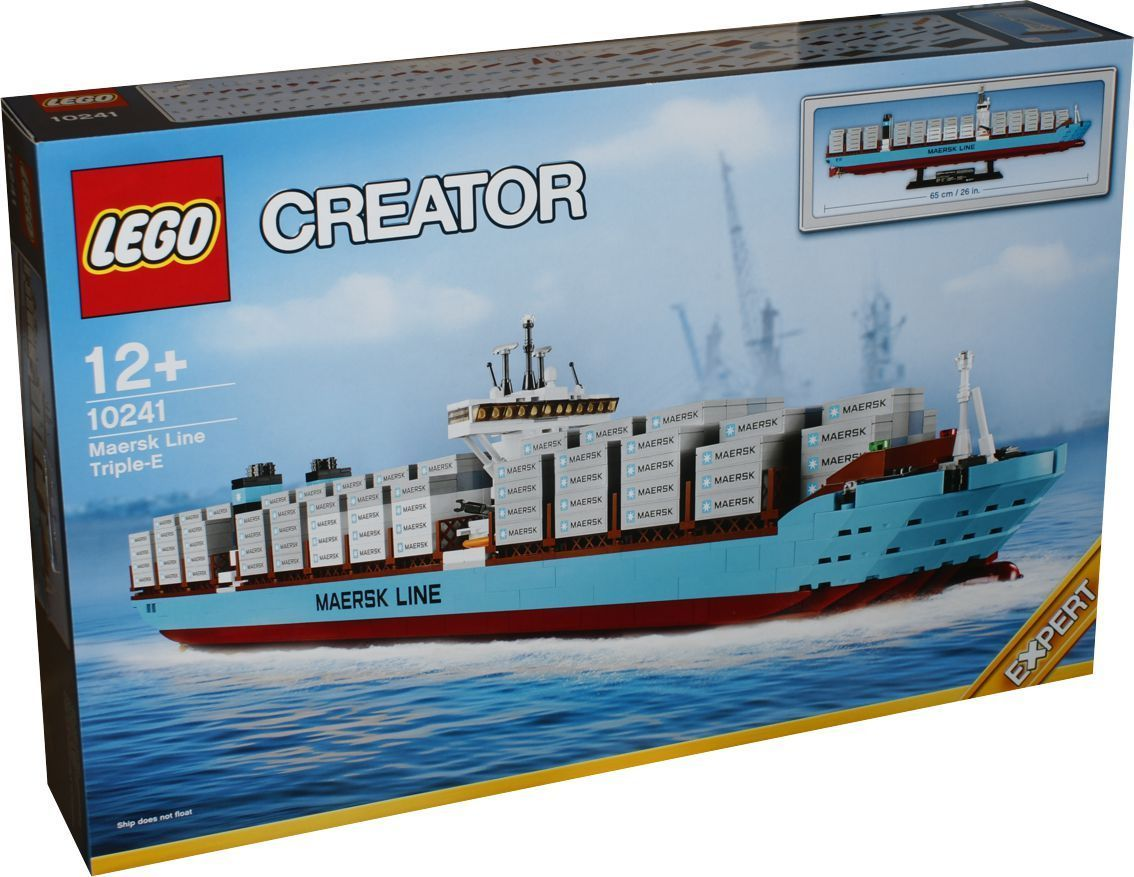 lego exklusiv 10241 maersk containerschiff lego in berlin. Black Bedroom Furniture Sets. Home Design Ideas