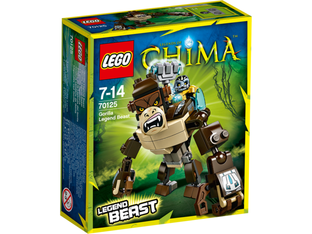 LEGO Chima 70125 Goril...